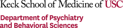 Keck School of Medicine of USC Department of Psychiatry and Behavioral Sciences logo image