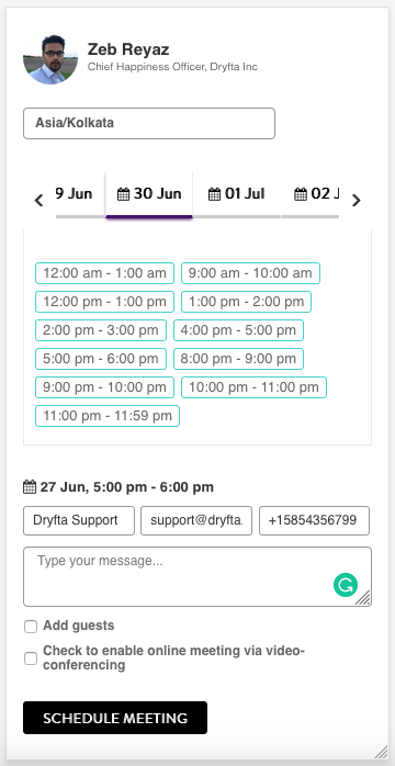 Appointment Scheduler Mobile