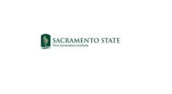 Sacramento State First-Generation Institute  logo image
