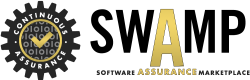 Software Assurance Marketplace (SWAMP) logo image