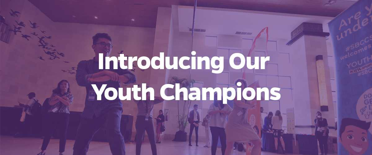 Introducing our youth champions