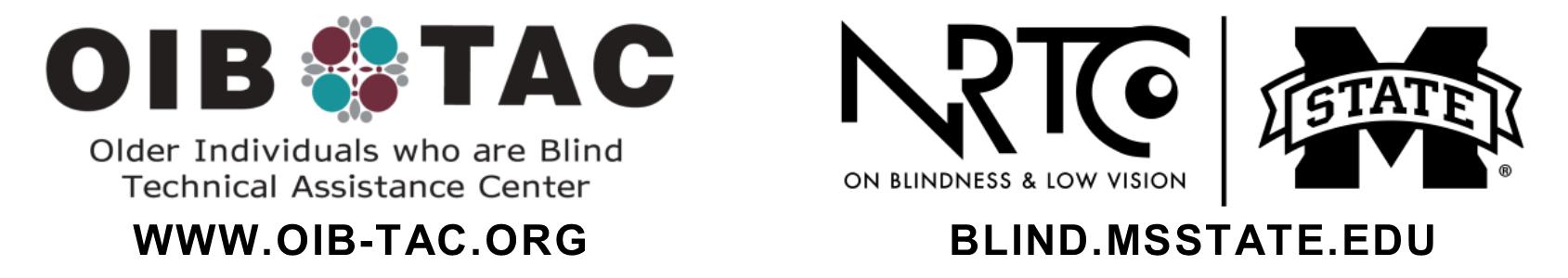 OIB TAC logo next to NRTC Logo text